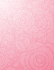 background with many pink roses