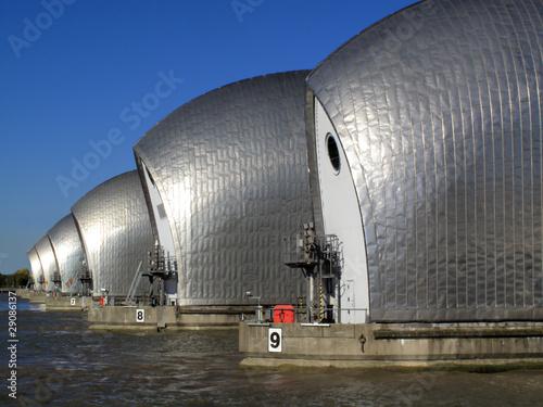 Aluminium Dam The Thames Barrier