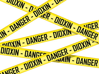 Danger - Dioxin tape