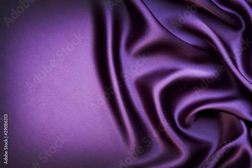 Leinwanddruck Bild Beautiful trendy Violet Silk