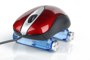 Computer mouse and medicine