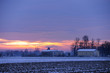 alba invernale paesaggio 1460