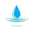 Logo drop of water # Vector