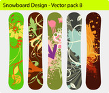 Snowboard design pack