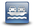 """3D Effect Icon """"Vehicle Ferry"""""""