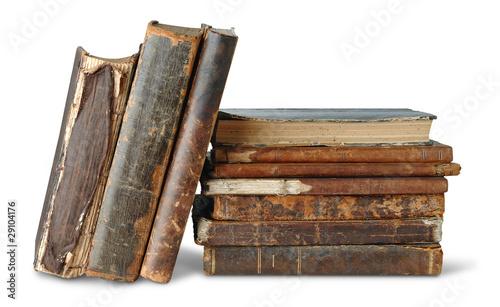 Foto op Plexiglas Retro Old books