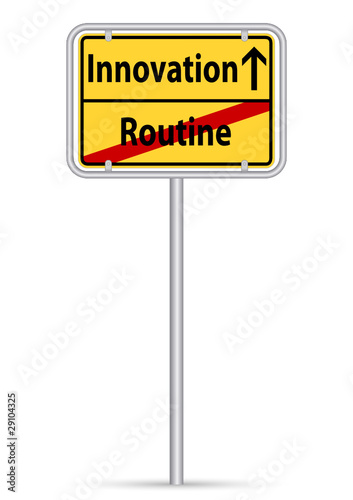 Innovation statt Routine