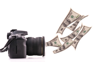 Making Money with Your Photography Concept Image