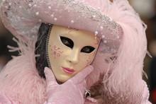 Karnawał maski w Wenecji, Włochy.