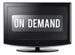 "Flatscreen TV ""On Demand"""
