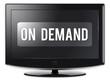 "Flatscreen TV ""On Demand"""