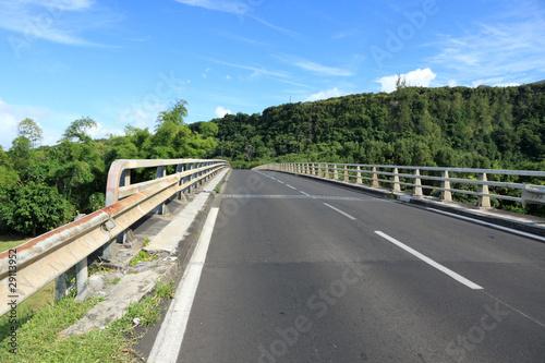 nouveau pont de la rivière de l'Est, île de la Réunion