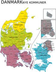Dänemark Verwaltungsgliederung