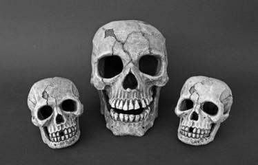 3 Totenschädel