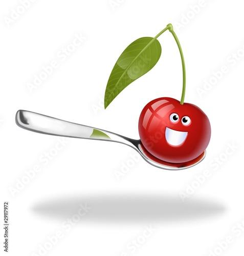 ciliegia al cucchiaino