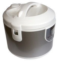 Rice cooker and slow food steamer