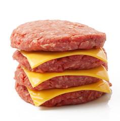 hamburgher di manzo con formaggio