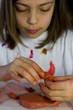 enfant modelage