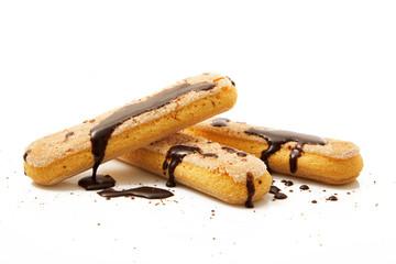 biscotti savoiardi con cioccolato
