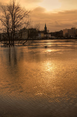 Hochwasser in Magdeburg