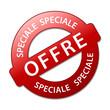 "Tampon ""OFFRE SPECIALE"" (vente spéciale prix shopping solde)"