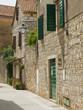 Mediterranean village street