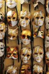 Venice: Lovely traditional carnival masks