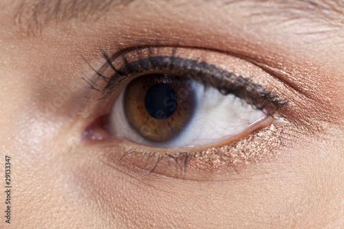 Fototapeten,auge,eye,braun,makeup
