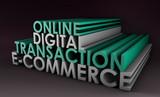 Online Digital Transaction poster