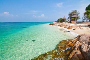 Seascape and rocks, Thailand