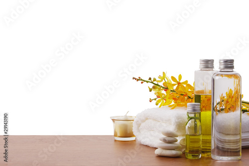 set of spa treatment