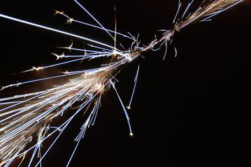skyrocket sparks