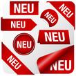 """Rote Elemente """"NEU"""""""