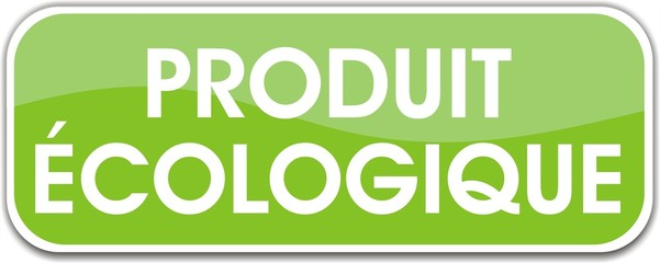 bouton produit écologique