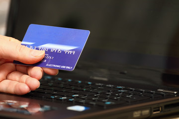 internet banking with credit card