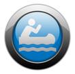 "Metallic Orb Button ""Canoeing"""