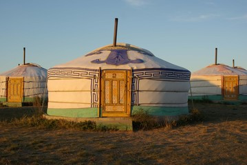 Yourte, Mongolie