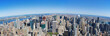 Upper Manhattan Skyline Panorama