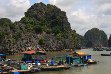 Halong Bay Fishing Village