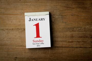 1 Januar 2012