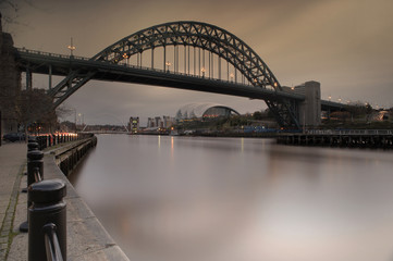 Tyne Bridge Long Exposure