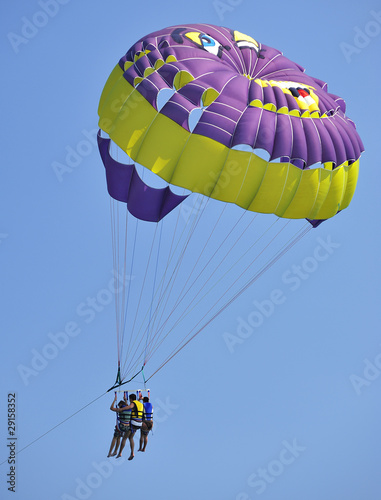 poster of Parasailing in summer
