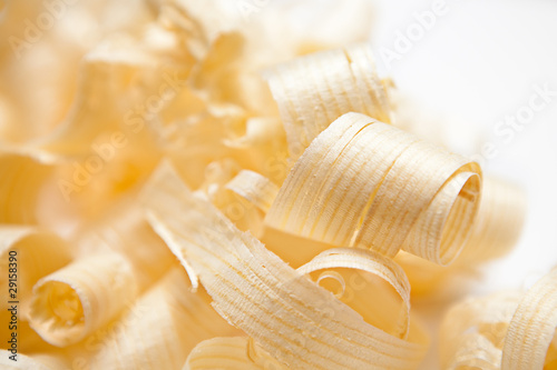 Close-up Wood Shavings