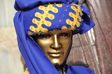 Carnival mask in Venice, Italy.
