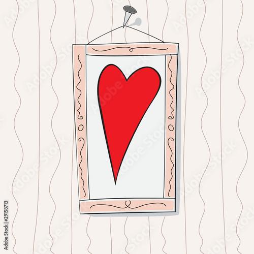 Bild mit Herz