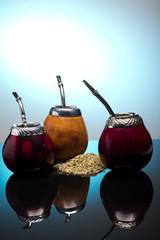 Yerba mate cups
