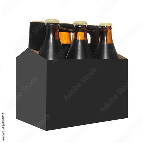 Six Pack of Beer Bottles