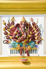 ganesh sculpture ,Thai Temple,Saman Rattana Ram Temple,Thailand