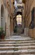 Old street of Valletta. Malta