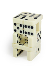 Domino tower